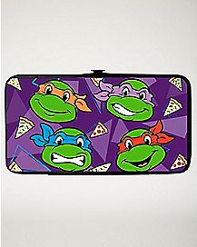 I Heart Pizza TMNT Hinge Wallet