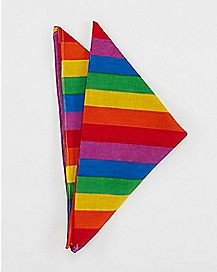 Striped Rainbow Bandana