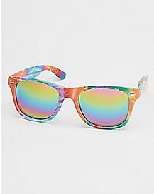 Tie Dye Rainbow Sunglasses