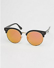 Grimes Top Round Sunglasses