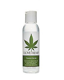 I Love Hemp Tingling Lube - 4 oz.