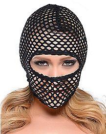 Fishnet Hood Mask