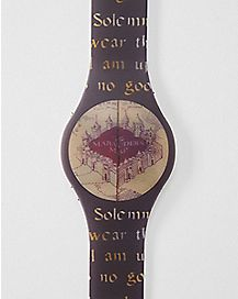 Marauders Map Harry Potter LED Watch