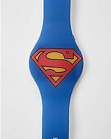 Logo DC Comics Superman LED Watch