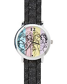 Multi Disney Princess Interchangeable Band Watch