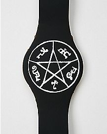 Devil Trap Supernatural LED Watch