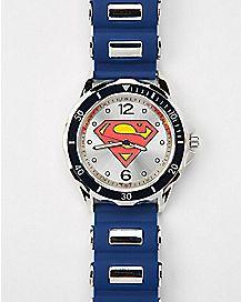 DC Comics Superman Bullet Band Watch