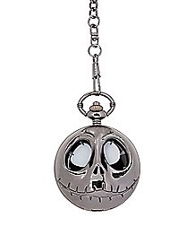 Cut Out Jack Nightmare Before Christmas Pocket Watch