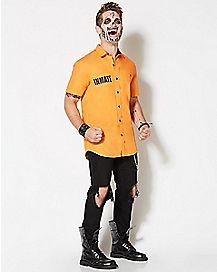 Arkham Asylum Inmate Batman T Shirt