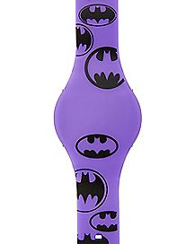 Logo Batgirl DC Comics LED Watch