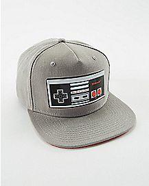 Chrome Weld Nintendo Snapback Hat