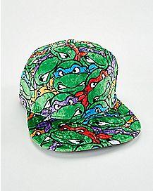 Velvet Snapback Hat - TMNT