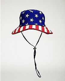 Sublimated USA Flag Boonie Hat