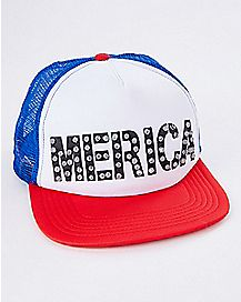 LED Merica Trucker Hat