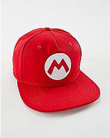 Cosplay Mario Snapback Hat