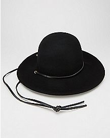 Miranda Floppy Hat Black