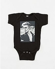 Smoking David Bowie Baby Bodysuit