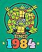 TMNT Since 1984 Baby Bodysuit
