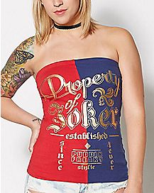 Harley Quinn Suicide Squad Tube Top