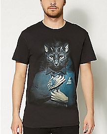 Proper Kitty T shirt