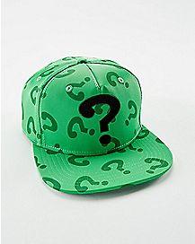 3D Weld Cosplay Riddler Snapback Hat