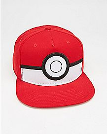 Cosplay Pokeball Pokemon Snapback Hat