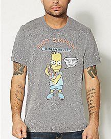 Underachiever Bart Simpson T shirt