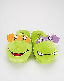 Michelangelo & Donatello TMNT Slippers