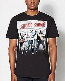 Suicide Squad Mugshot T Shirt - DC Comics