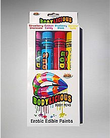 Bodylicious Edible Body Pens 4 Pack
