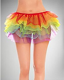 Petticoat Skirt - Rainbow
