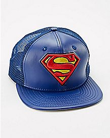 New Era Superman Trucker Hat