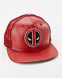New Era Deadpool Trucker Hat