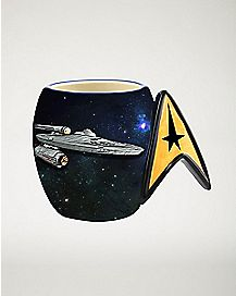Molded Star Trek Mug - 20 oz.