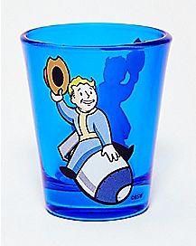 Bomb Fallout Shot Glass 1.5 oz