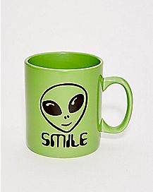 Jumbo Alien Smile Mug - 30 oz.