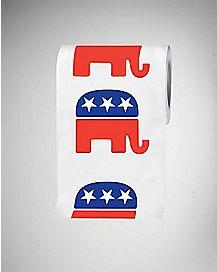 Republican Elephant Toilet Paper