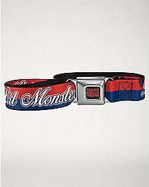 Daddy's Lil Monster Harley Quinn Suicide Squad Seatbelt Belt