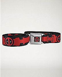 Suit Up Deadpool Marvel Seatbelt Belt