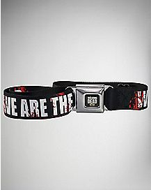 Adjustable We Are The Walking Dead Seatbelt Belt