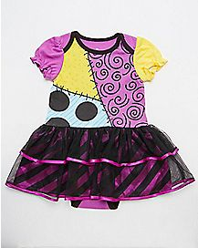 Sally Nightmare Before Christmas Baby Dress