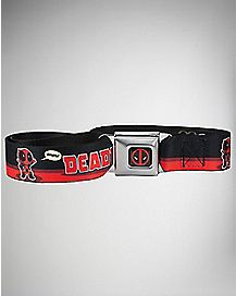 Adjustable Deadpool Marvel Seatbelt Belt