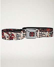 Free Chimichanga Deadpool Seatbelt Belt - Marvel