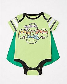 Caped TMNT Baby Bodysuit