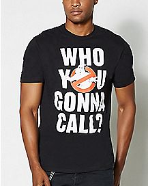 Who You Gonna Call Ghostbusters T Shirt