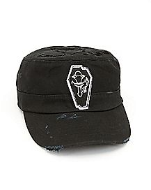 Laughing Coffin Sword Art Online Cadet Hat