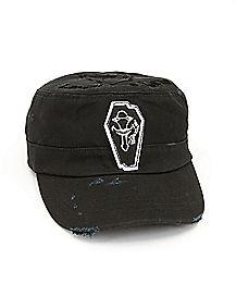 Laughing Coffin Sword Art Online Cadet Hat