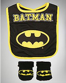 Batman Bib And Bootie Set