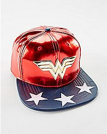 Suit Up Wonder Woman Snapback Hat - DC Comics