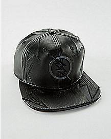 Faux Leather Professor Zoom Snapback Hat - DC Comics